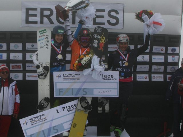 Podium in Kayseri