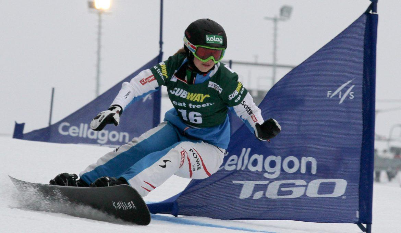 Snowboard FIS World Cup - Winterberg - PSL - Sabine Schoeffmann (AUT)