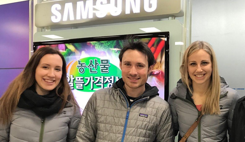 Korea ist bereit für Olympia