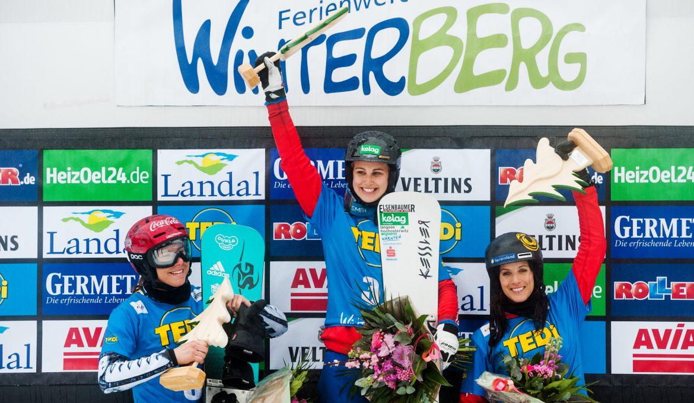 Sieg beim Weltcupfinale in Winterberg