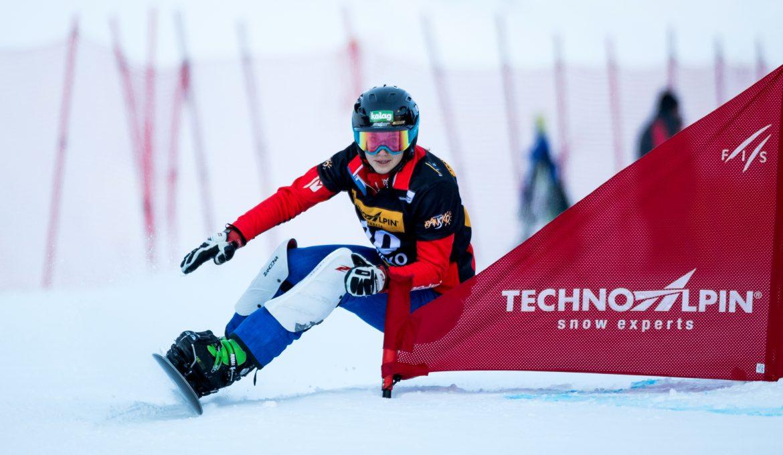 FIS Snowboard World Cup - Bansko BUL - PGS - SCHOEFFMANN Sabine AUT © Miha Matavz/FIS