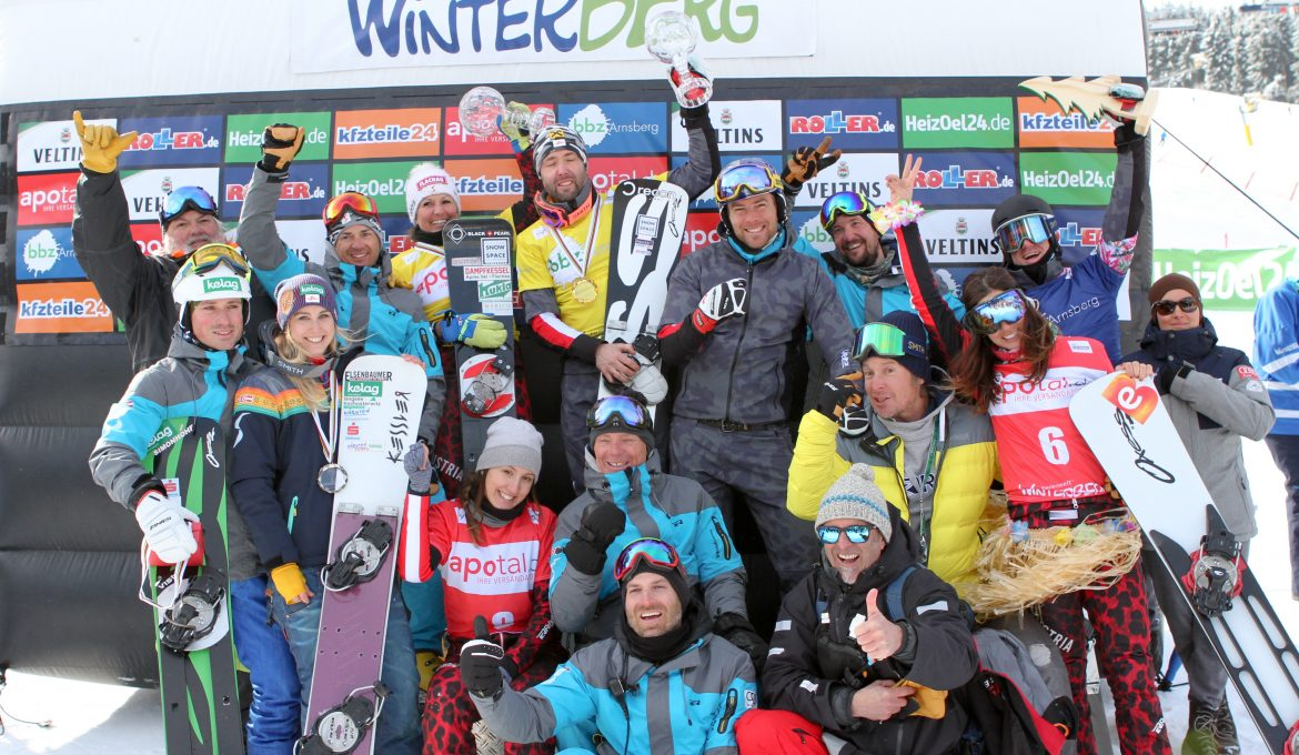 Team Austria celebrates after Team PSL World Cup Winterberg © Oliver Kraus