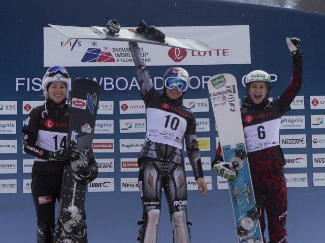 Podium in Korea und Weltcupführung
